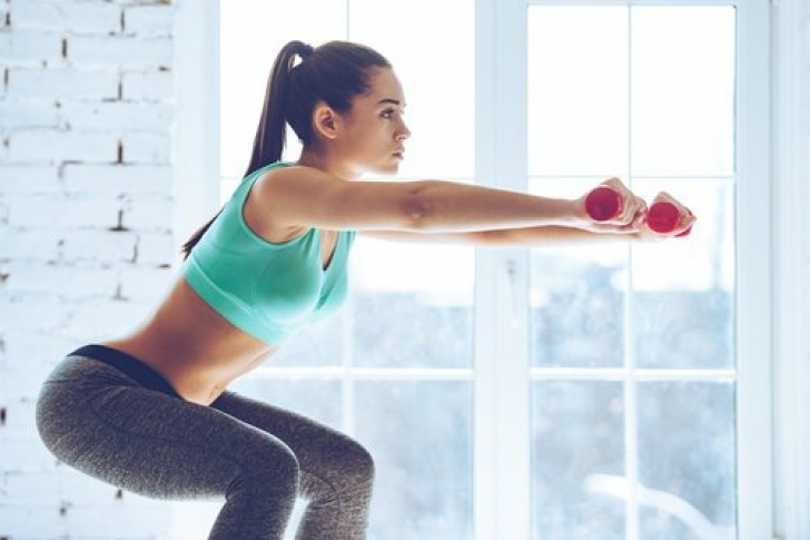 Ejercicios para bajar de peso con sentadillas