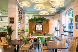 Raw Coco está entre los mejores restaurantes saludables de Madrid