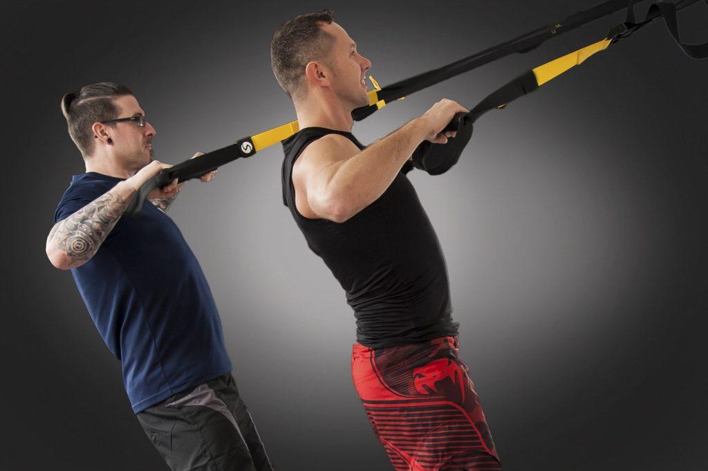 TRX Es una combinación de ejercicios que aumentan la potencia muscular