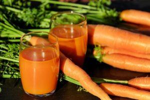 Smooting de zanahoria uno de los alimentos que puedes comer antes de entrenar