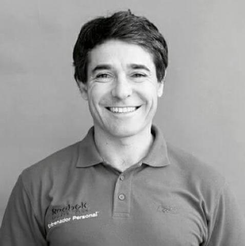 Gabriel Telves, instructor del club Rebook Madrid