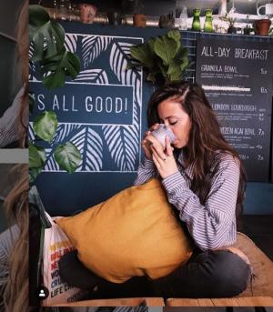 Claudia Ayuso, reconocida entre los influencers veganos