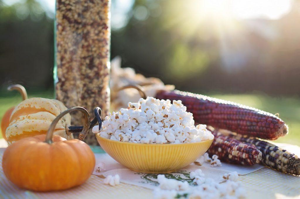 Palomitas de maíz, una merienda ideal para personas con diabetes