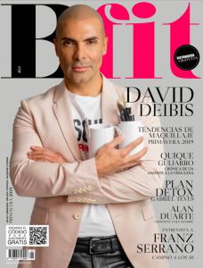 Portada de primavera 2019 con David Deibis