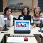 Lina Palacio Ossa, Antonella Di Campo y Mónica Olavarría en en Click Radio TV