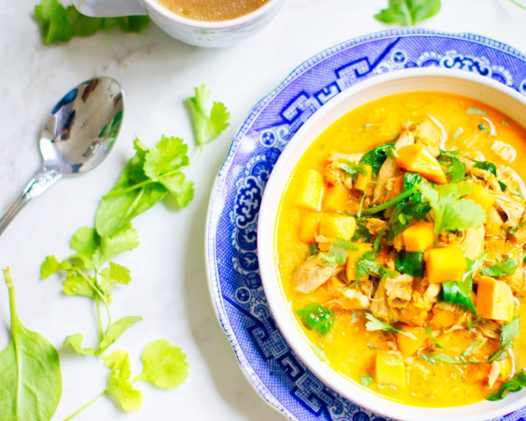 Pollo en salsa de curry amarillo una deliciosa receta con curry