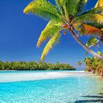 Islas Cook, un paisaje de ensueño. Un precioso paisaje es una verdadera riqueza de la vida.