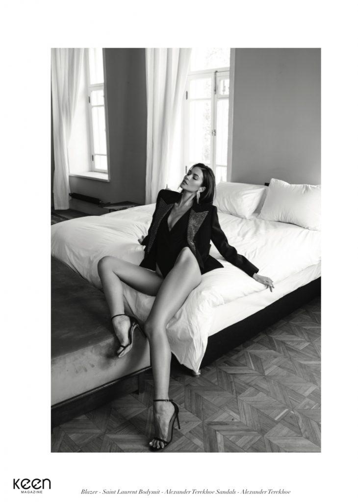 Katrina Kruglova, modelo internacional rusa