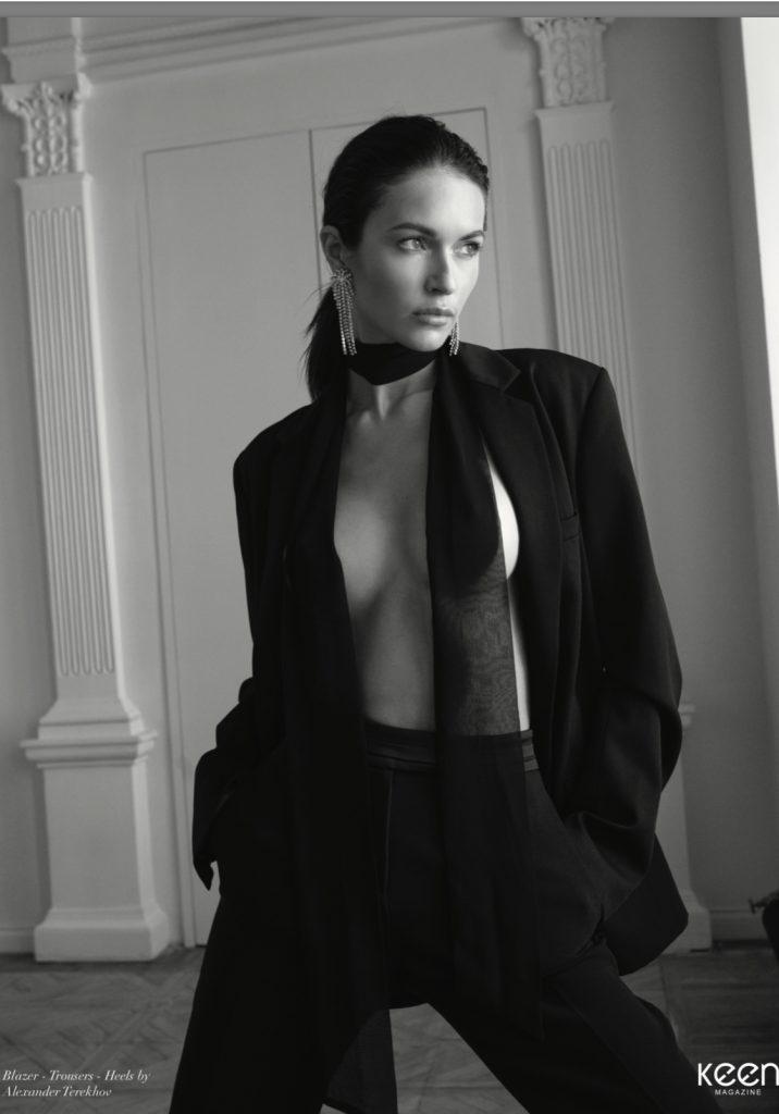 Katrina Kruglova, modelo internacional