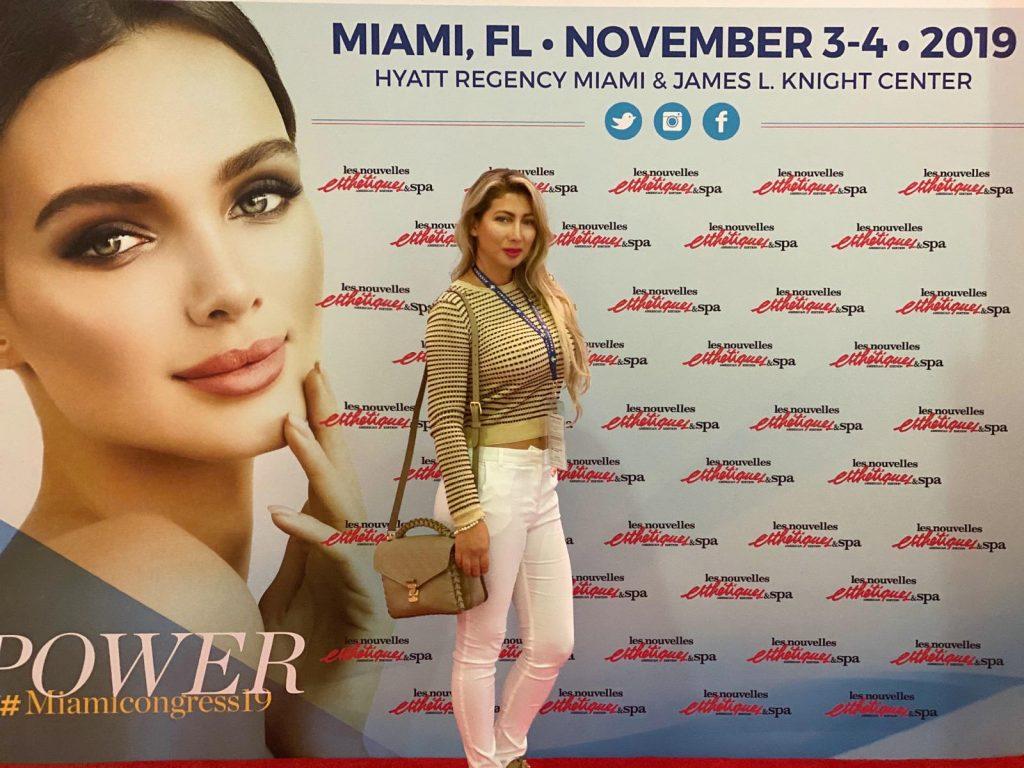Carolina Bolivar, presente en el Congreso Internacional de Estética y Spa