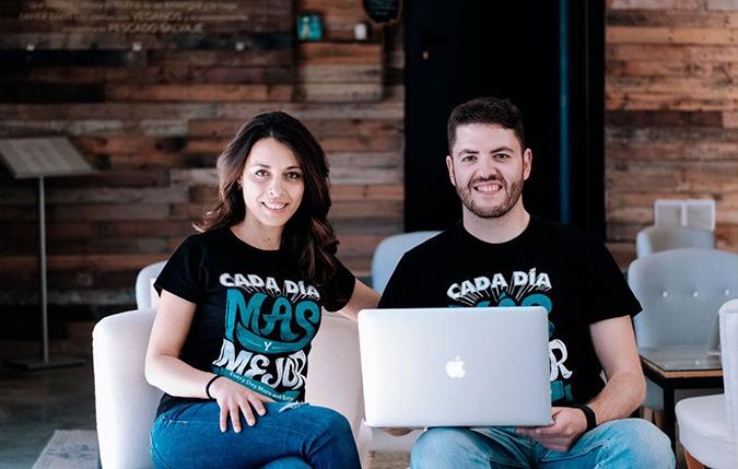 Isa y Juanmi cofundadores de Más y Mejor