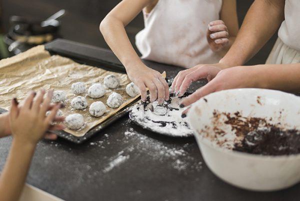 galletas de chocolate meriendas para niños fáciles y nutritivas