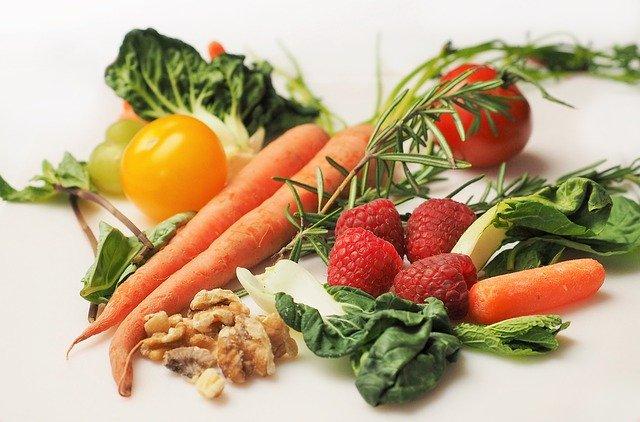 Dieta DASH, variedad de vegetales