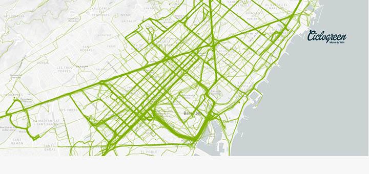 mapa de patrones de mobilidad