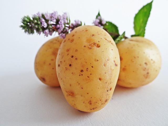 Las patatas: El colágeno en alimentos