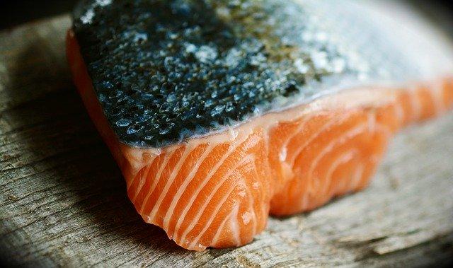 El colágeno en alimentos: Salmon
