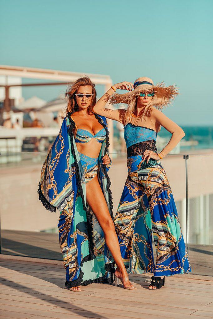 Fashion Shoot Adlib Ibiza 2020, bañadores de la diseñadora Piluca Bayarri