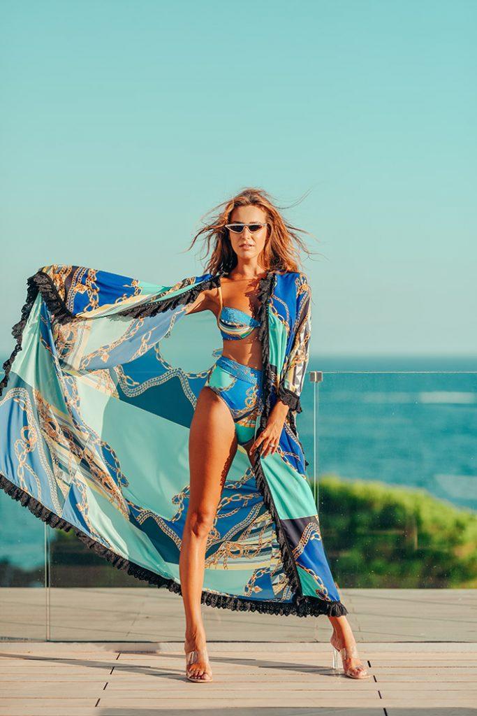 Fashion Shoot Adlib Ibiza 2020 bikini de la diseñadora Piluca Bayarri