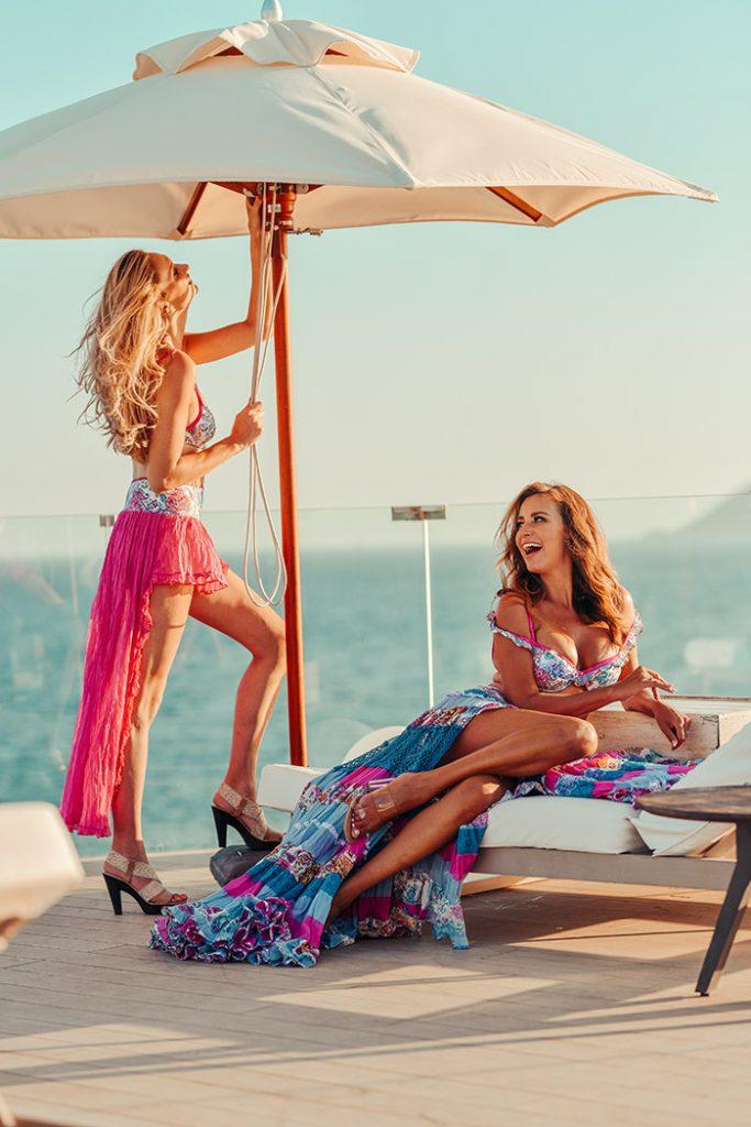 Fashion Shoot Adlib Ibiza 2020, diseños de la diseñadora Piluca Bayarri