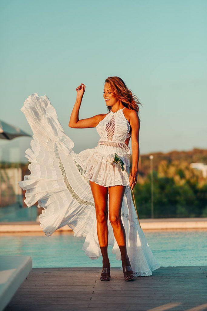 Fashion Shoot Adlib Ibiza 2020, diseño de la diseñadora Piluca Bayarri