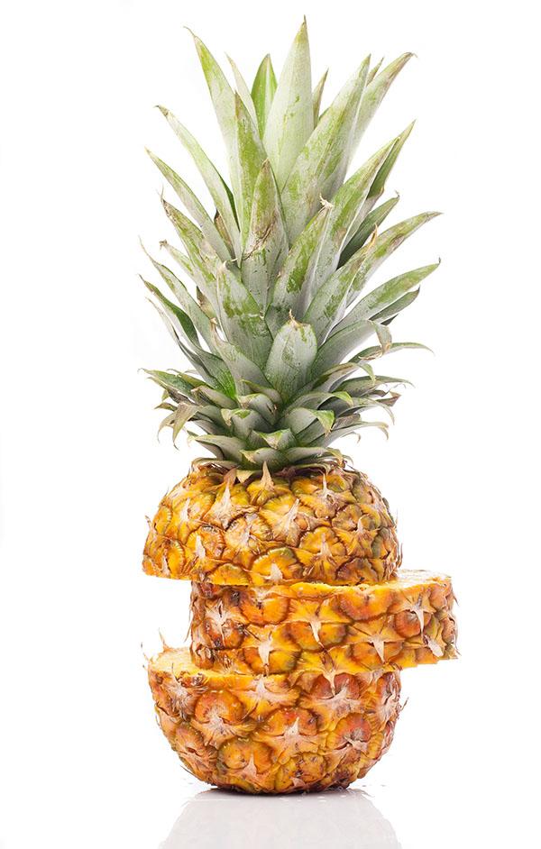 Piña fruta depurativo