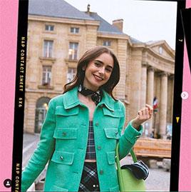 fotografía de Emily en paris