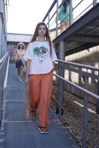 desfile de Circular Sustainable Fashion Week Madrid