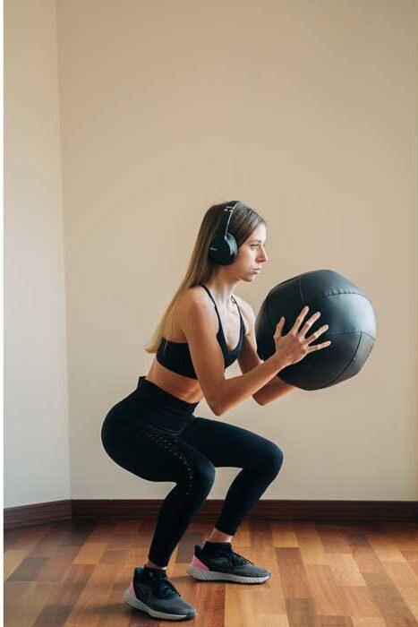 entrenamiento de glúteos con peso