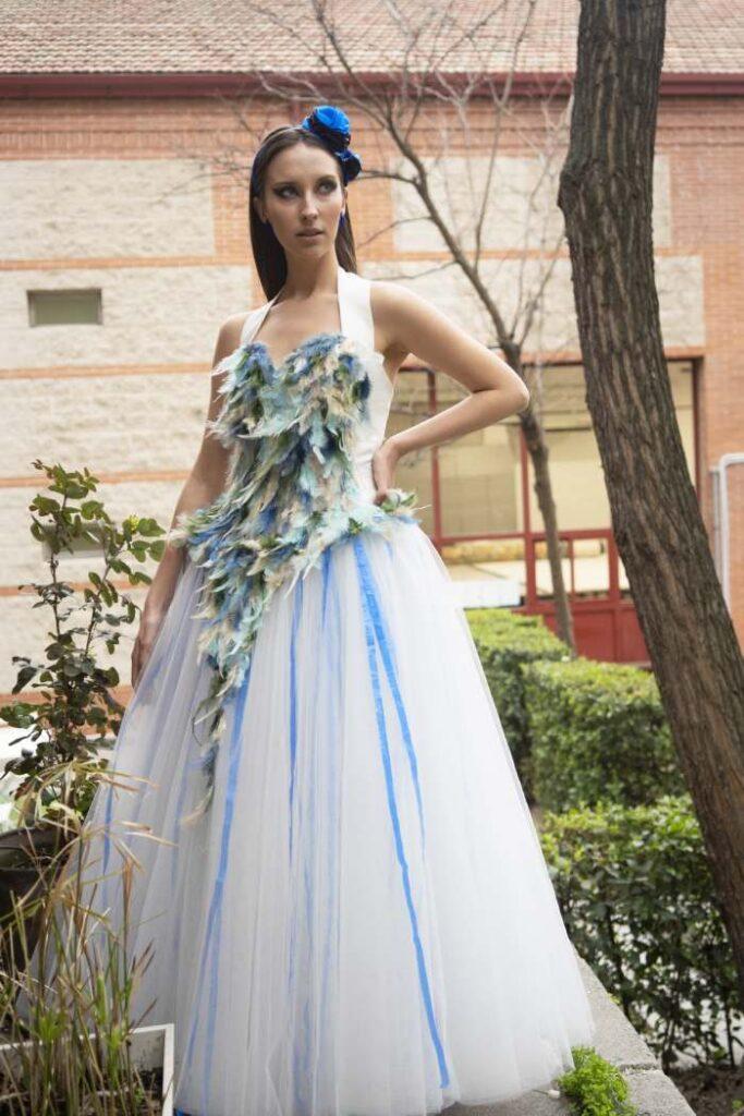 vestido de novia de moda sostenible