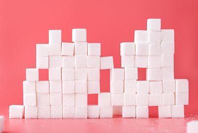 azucar en cubos