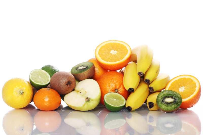 variedad de frutas para comer