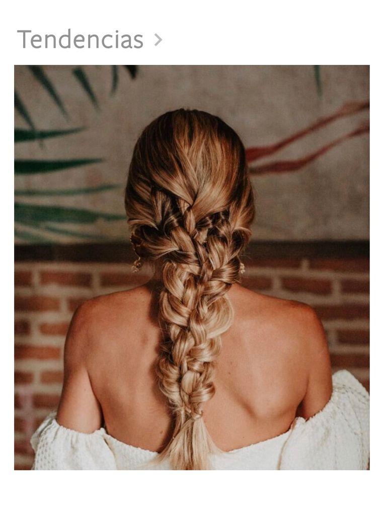 Me caso: peinado de boda